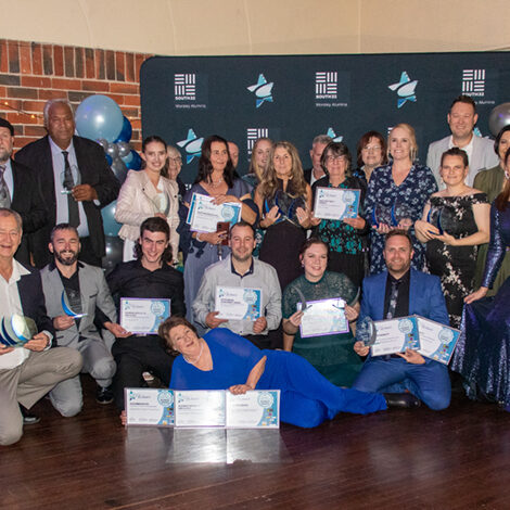 South32 Collie Small Business Awards group